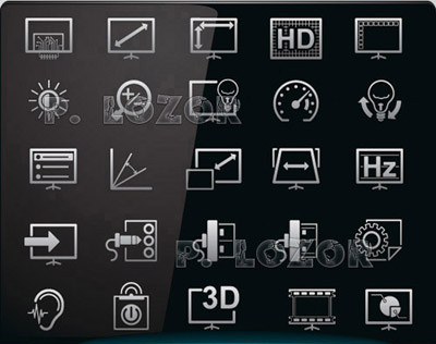 Modern HD Appliances Icons