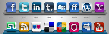 Social Network Pro Icons